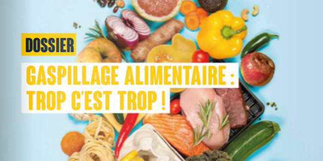 dossier gaspillage alimentaire